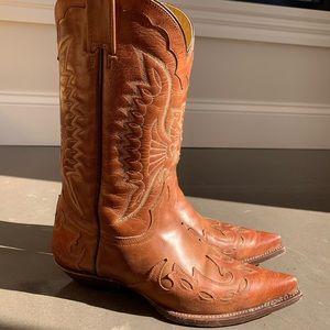 Mezcalero Cowboy Boots, Women's 8-8.5 wide.